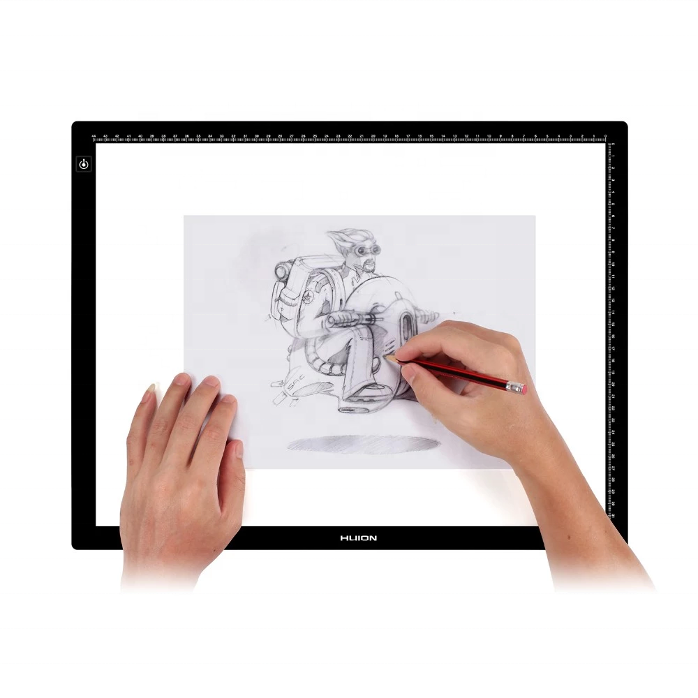 Huion Acryl 480x360x8mm LA3 tracing board einstellbare helligkeit animation tragbare licht pad LED zeichnung bord