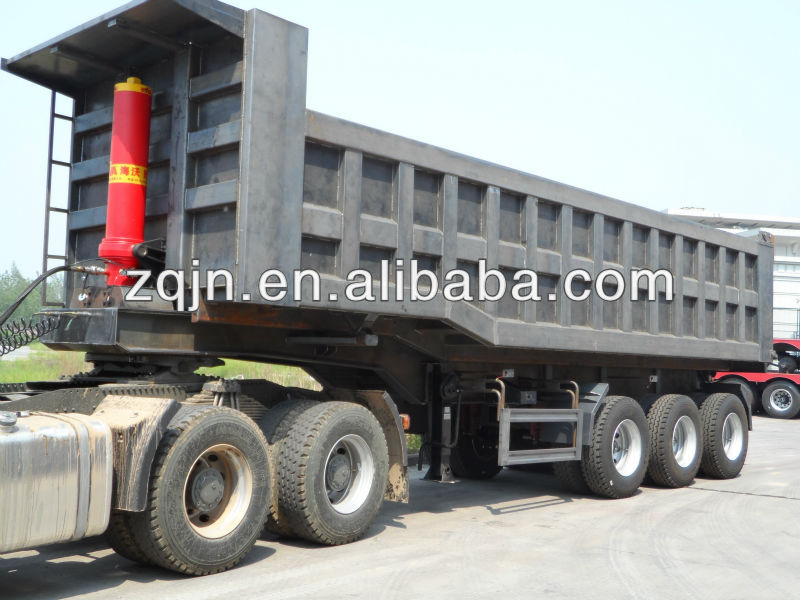 Commercial Truck Trader Heavy Duty Semi Trailer With Hyva ...