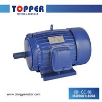 Y cast iron house coppewire 220/380V 50HZ or 60HZ AC electric motors