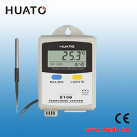 best selling products in China portable humidity temp data huato logger