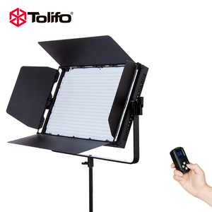 Tolifo Pro Photo Studio LED Continuous Photography Lighting Flexible LED Panel Film Lighting