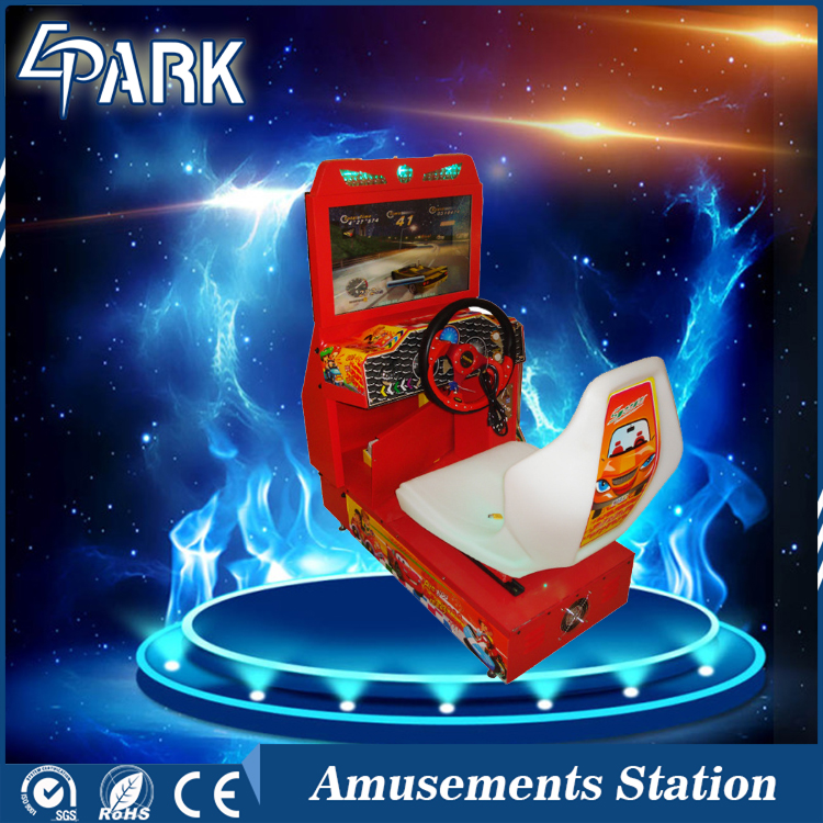 interactivo moneda empujador mquina de juego simulador de carreras de coches para nios