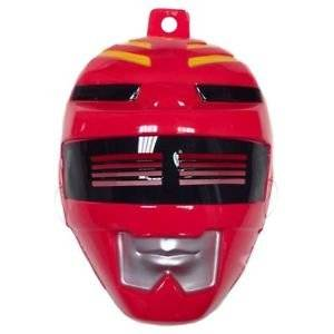 Red Power Ranger Mask Costume Mask Kids Power Rangers Halloween