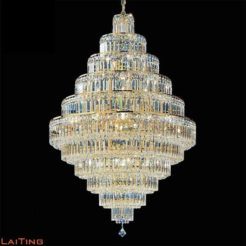 Factory Outlet Chandelier Pendant Lights Crystal Lighting Fixture For Stairs 62005