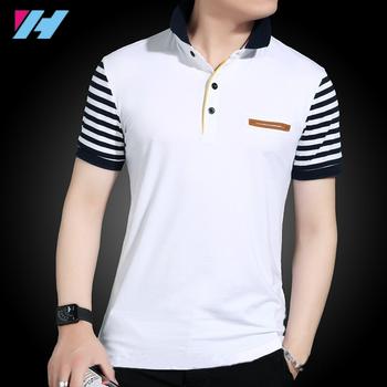 c8f5fdf64f4d Yihao 2018 Hot Sale New Fashion custom mens polo t shirt short Sleeve  Summer 100%