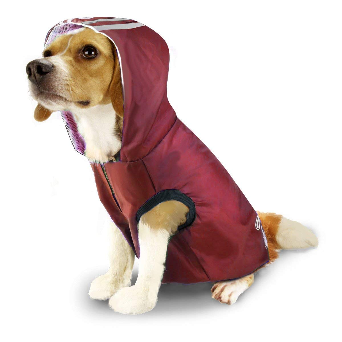 Antart Dog Raincoat Waterproof Pet Jacket Hoodies Dogs Outdoor Clothes Lightweight