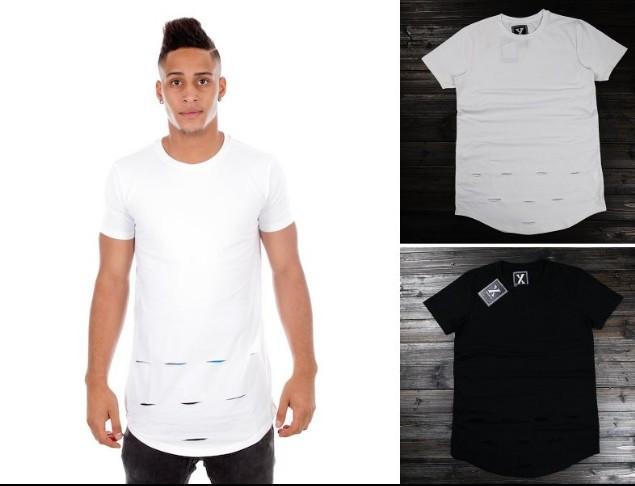 b7aa1cfea16f Buy oversized length extender t shirt Tyga cool oversized T shirt Tee men  hip hop Extended hba Plaid t shirt tee top hba pyrex shirt in Cheap Price  on ...
