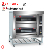 Nieuwe Power commerical gas pizza oven pizza making machine met 2 layer