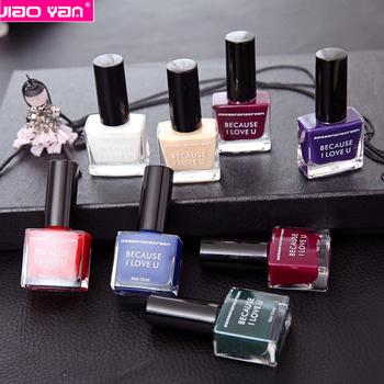 Tasteless 8 Colors 12ml Natural Healthy Matte Nail Polish 7244