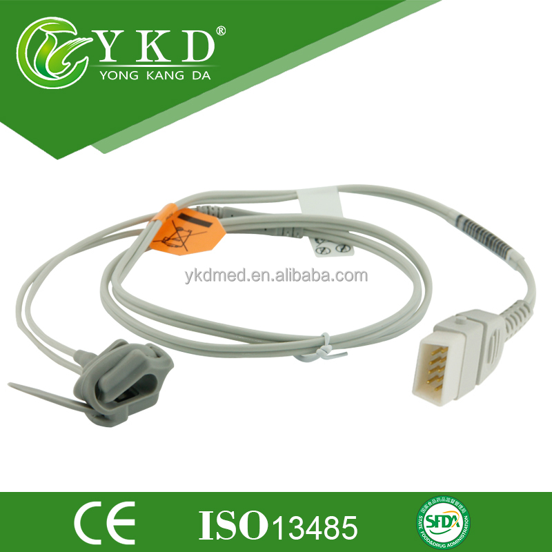 Beijing Choice Electronic: Pulse Oximeter model MD300I1 Neonate Silicon Wrap Spo2 sensor,DB9 pins