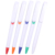 Huahao brand custom color wholesale ballpoint pen with logo promotional plastic pen