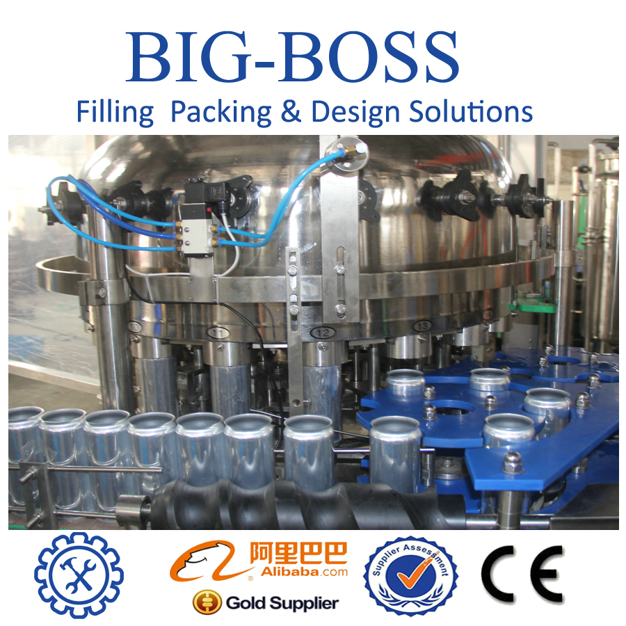 glass bottle jar/aluminum tin soda cans filling machine beverages (c88)