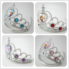 Fashion Gift Children s Cartoon Characters Crown Princess Headwear Girl Tiaras Apparel Accessories Party Festival Gift