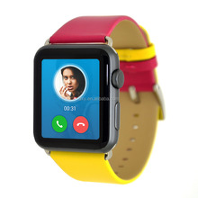 Genuine leather watch wrist strap band for Apple iWatch 38mm 42mm
