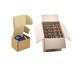 China supplier color printing 6/12 bottles wine beer corrugated cardboard packaging boxes for shipping