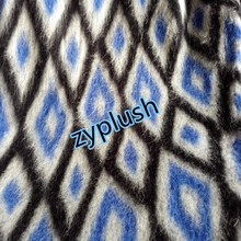 FY150407 Wool/Polyester/Acrylic Blend Knit Fabric for Coat