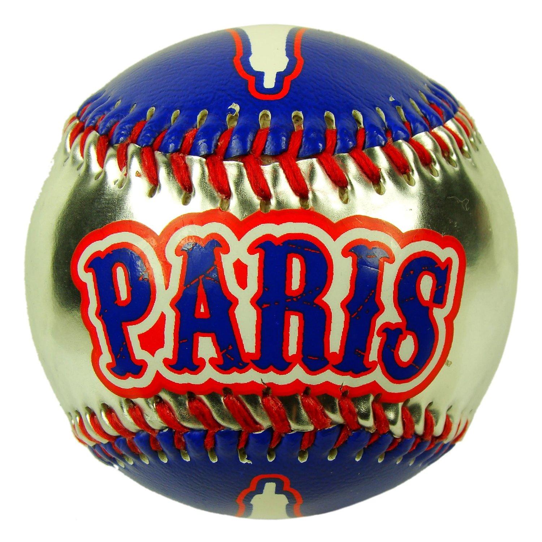 Souvenirs of France - Paris Eiffel Tower Baseball - Blue, Silver