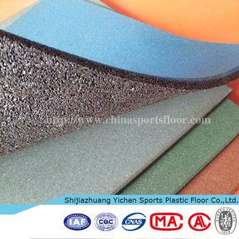 Outdoor Tennis Court Rubber Badminton Sports Floor Mat