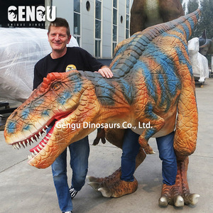 Handmade funny walking with dinosaurs costumes