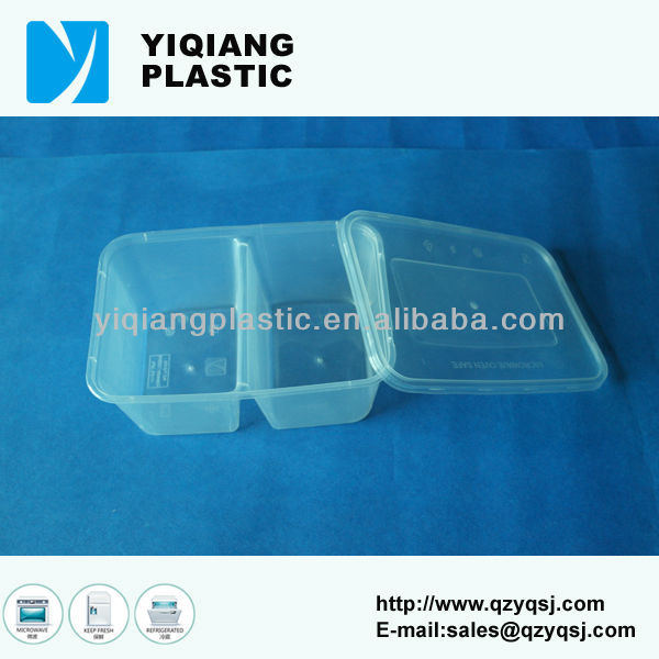 PP clear chinese food box container