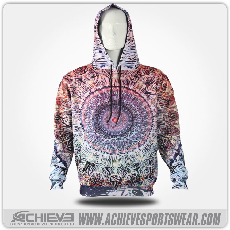 Wholesale Custom Crewneck polyester cotton Hoodies and Printed Sweatshirts pullover mens fashion hoodie