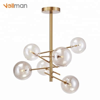 2018 New Gl Ball Pendant Lights Clear Lamp Shade Hanging Light Ceiling Globe Product
