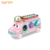 2019 Multi color Educational Baby Bus, multi-functional Baby knocking piano, baby puzzle toy