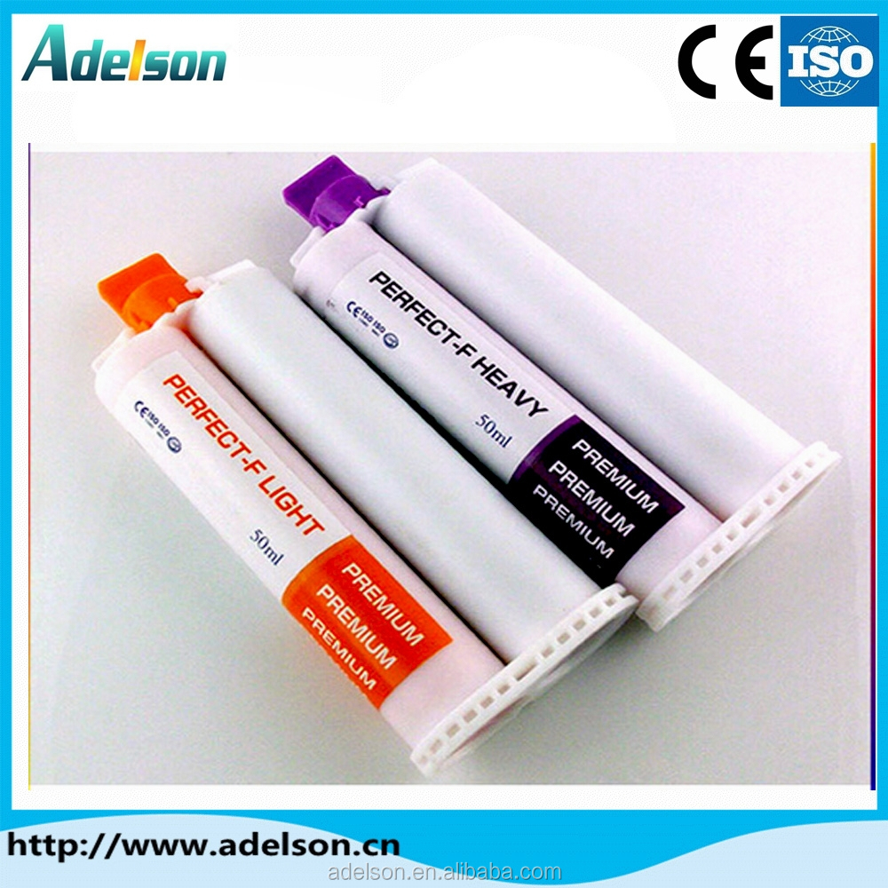 China hot sale cheap dental silicone impression material/dental putty