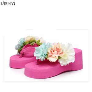 Fashion Flower Slippers Diy Wholesale Lxunyi Woman Slipper Handmade Lady XPOTiuZk