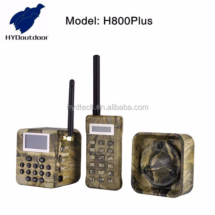 factory good quality big voice goose hunting mp3 player, hunting mp3 bird caller, animal predator with timer h800plus