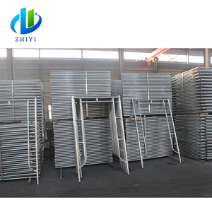 International standard hot dipped galvanized layher scaffolding system