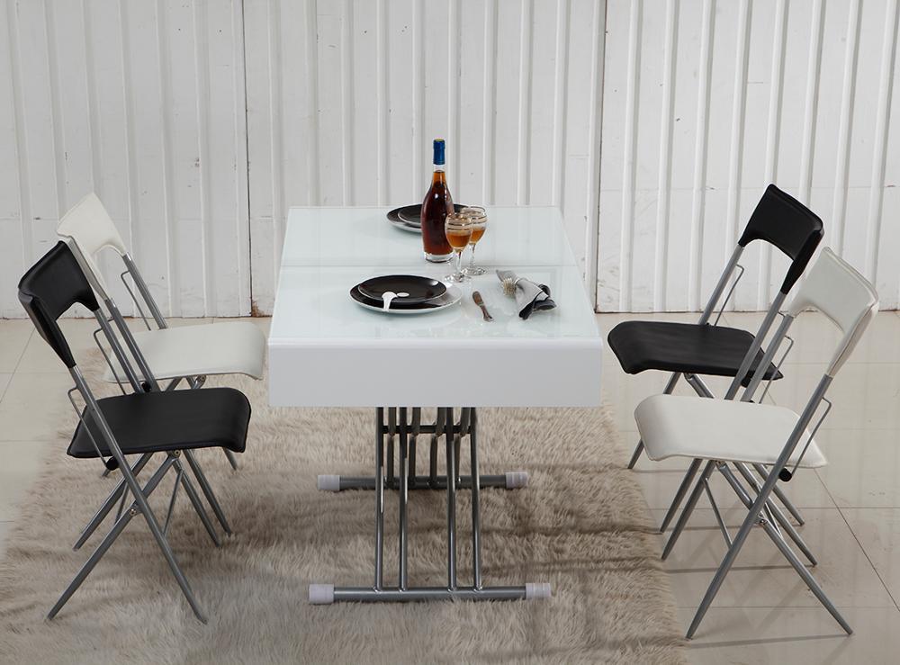 Mejor Venta De Café Ajustable Mesa De Comedor Plegable Mesa De Comedor  Tabla De Elevación - Buy Ajustable Mesita De Comedor,Mesa De  Elevación,Diseños ...