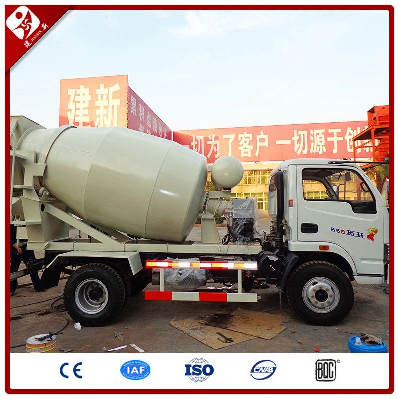 2017 Best Price 3 Cubic Meter Concrete Batch Mixer Truck For Sale
