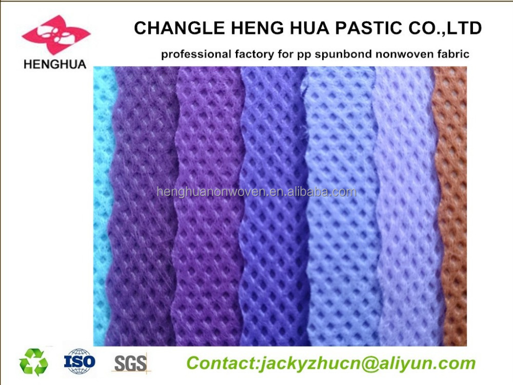 Nonwoven fabric materail for bag ,shoes ,garment ,ect