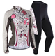 Hot Sell Womens Cycling Jersey Long Sleeve Clothing Bicycle Sportswear Jersey Sets