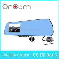 User Manual FHD 1080P Car Camera Dvr Video Recorder with rearview mirror X6 with CE,FC Certification