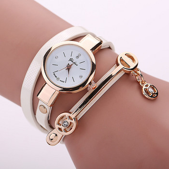 2dff198717d New Sweet Style Lady Fashion Hand-woven Woman Watch Leather Watches ...