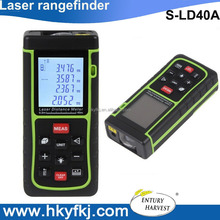 China factory long distance laser distance measure device handheld rangefinder with Pythagorean Theorem