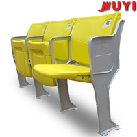 BLM-4151 factory price wholesale folding stadium chair plastic outdoor stadium seat sport seat tip up stadium seat