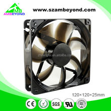 2012 the newest type dc12v laptop dc fan led 120mm