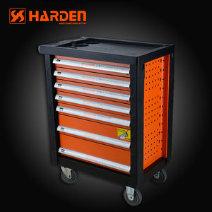 Professional Prime Cold-roll Steel Sheets 7 Drawers Roller Cabinet