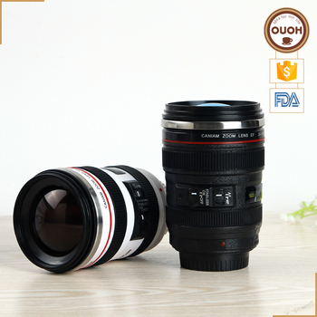 Cheap Best Selling Unique Souvenir Promotional Logo Custom Printed 24-105 Camera Lens Coffee Cup Mug Price for Sale