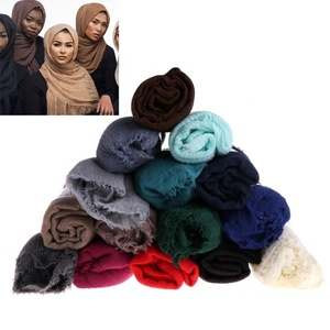 Bronzing fashion style cotton sequins long scarves muslim hijabs scarf muslim hijab best price Yiwu Xi Meng