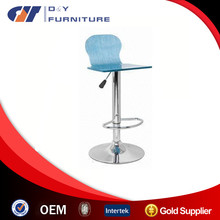2015 clear acrylic bar stool with back