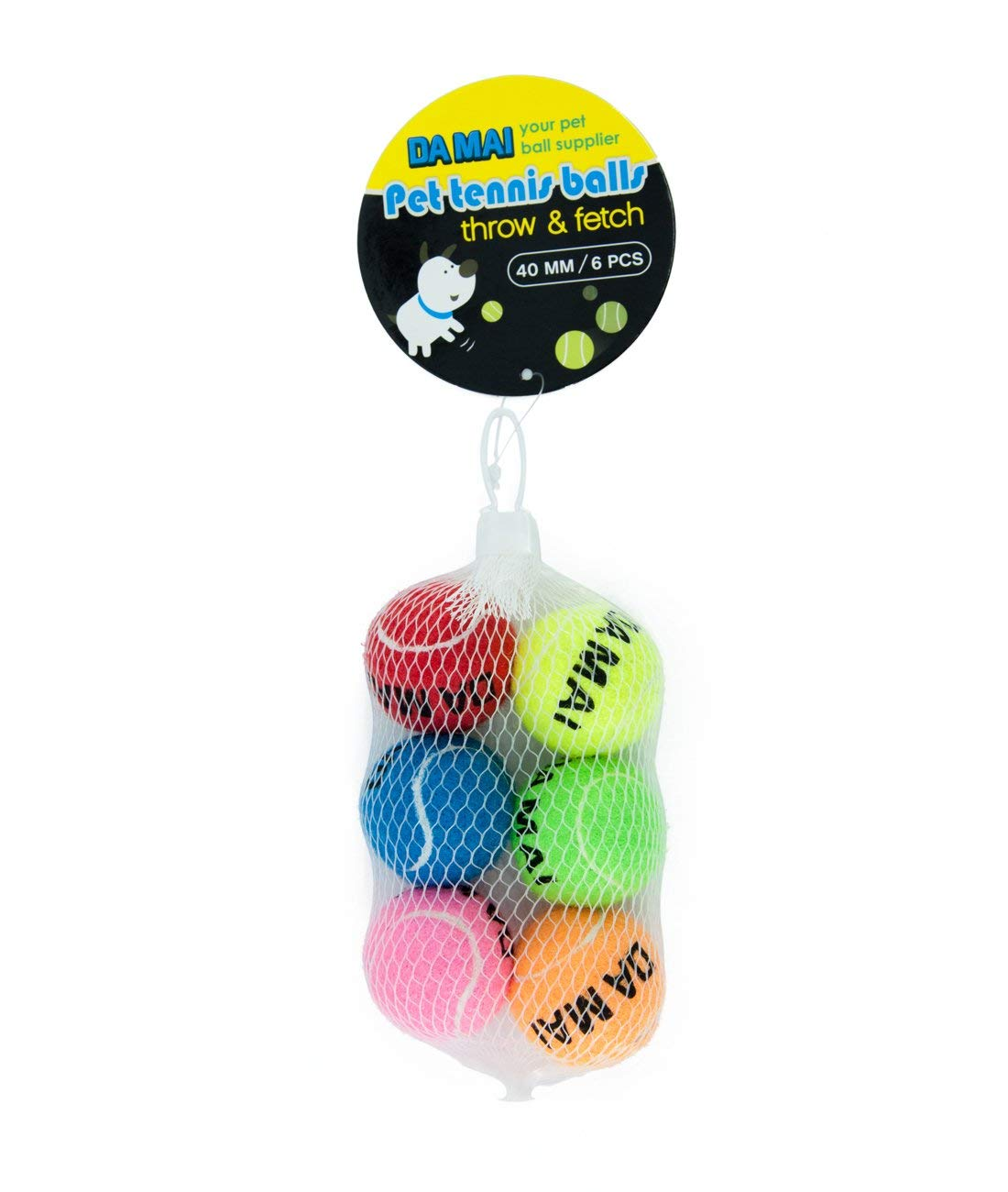 Da Mai 40mm mini Tennis Ball for Sports and Pet Toys Dogs Outdoor Sports Cricket