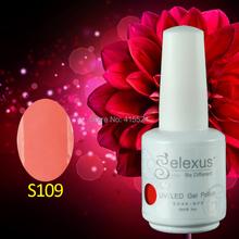 Free Shipping 6Pcs lot 2015 Brand New Gelexus Soak off UV Nail Gel Polish and Salon