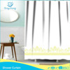 hook less polyester luxury shower curtain design new model
