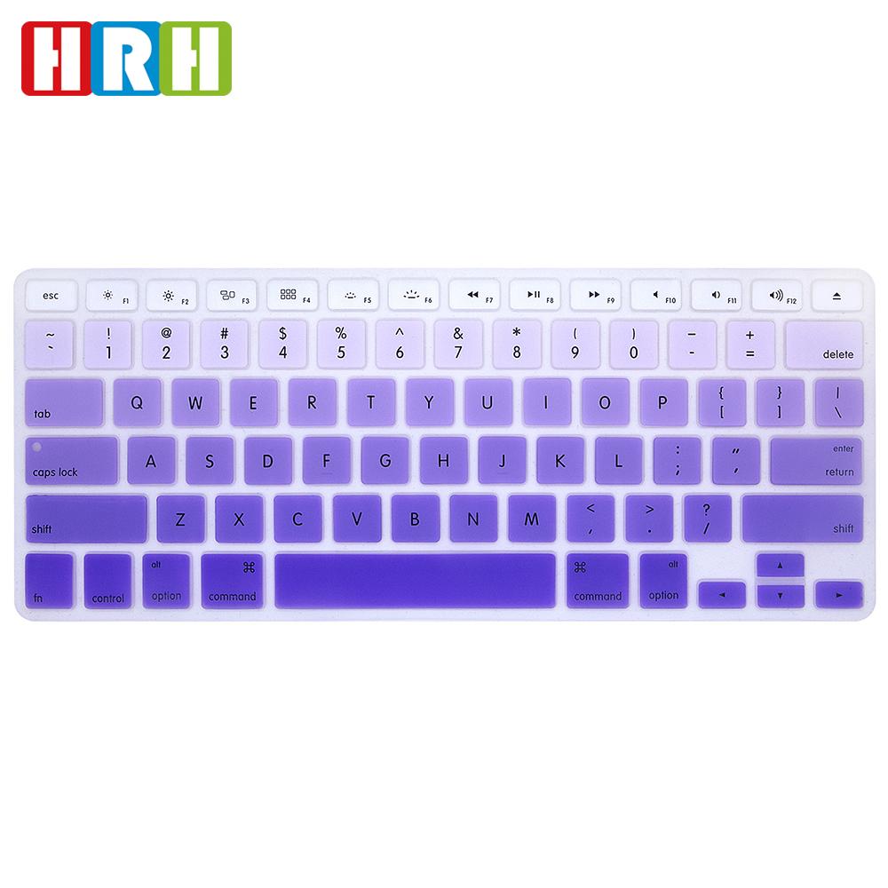 Gradiente de color patrón silicona diseño ee.uu. teclado protector ...