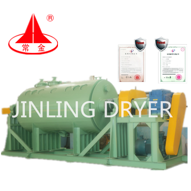 ZHG Jingling Industrial Low price Industrial Vacuum Paddle Dryer/Drying Machine for Copper Sulphate