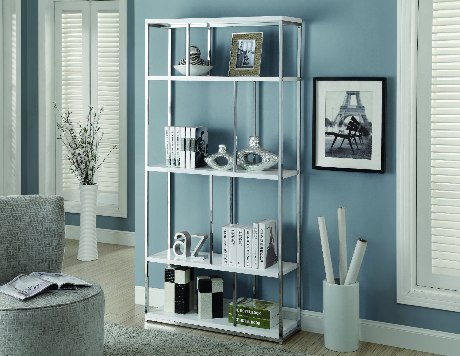 Cheap Chrome Glass Bookcase, find Chrome Glass Bookcase deals on ...